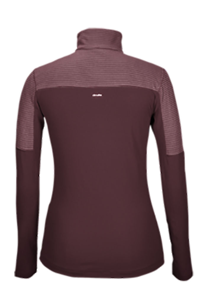 Adidas Texas A&M Womens Maroon Light Weight 1/4 Zip Pullover - Image 2