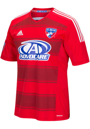 Adidas FC Dallas Kids Red Secondary Jersey