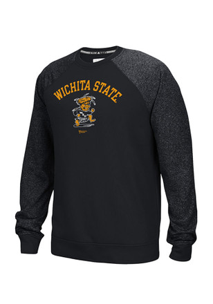 Adidas WSU Mens Black Vault Performance Sweatshirt