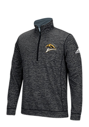 Adidas Western Michigan Broncos Mens Black Primary 1/4 Zip Pullover
