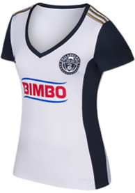 Philadelphia Union Womens Adidas Secondary Replica Soccer - White