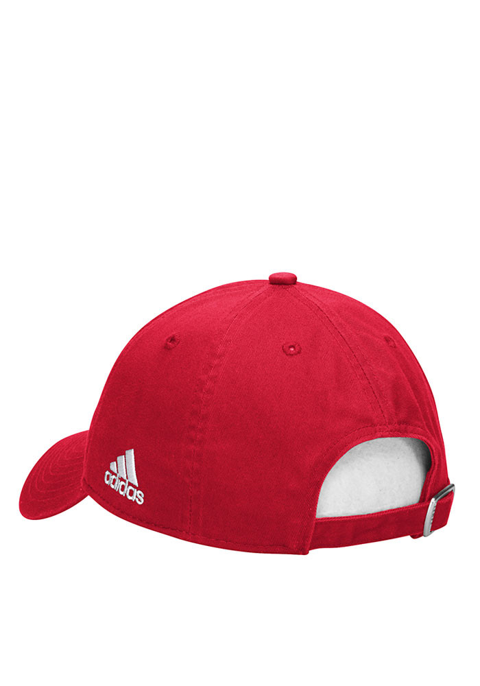 Adidas Chicago Fire Mens Red Slouch Adjustable Hat - Image 2
