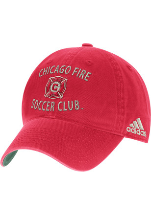 Adidas Chicago Fire Mens Navy Blue Fashion Adjustable Hat