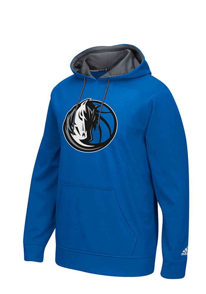 Adidas Dallas Mavericks Mens Blue Tip-Off Hood - Image 1