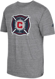 Adidas Chicago Fire Grey Vintage Too Fashion Tee