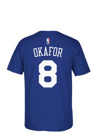 Jahlil Okafor Philadelphia 76ers Blue 7-Series Player Tee