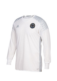 Philadelphia Union Adidas screen print Authentic Soccer - White