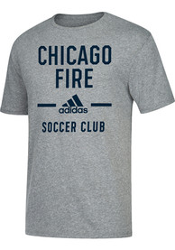 Adidas Chicago Fire Grey Simply Put Fashion Tee