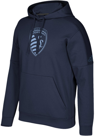 Adidas Sporting Kansas City Mens Team Tone Hood