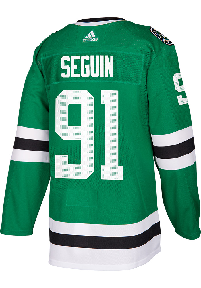Adidas Tyler Seguin Dallas Stars Mens Green Authentic Hockey Jersey - Image 1