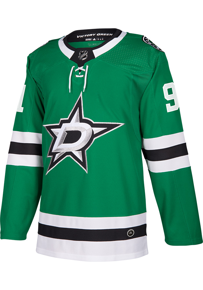Adidas Tyler Seguin Dallas Stars Mens Green Authentic Hockey Jersey - Image 2