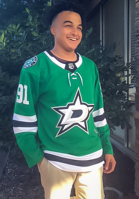 Adidas Tyler Seguin Dallas Stars Mens Green Authentic Hockey Jersey - Image 4