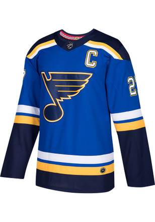 Robby Fabbri St Louis Blues Mens Authentic Hockey Authentic Jersey - Blue