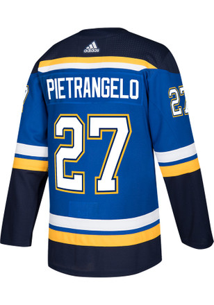 Alex Pietrangelo St Louis Blues Mens Authentic Hockey Authentic Jersey - Blue