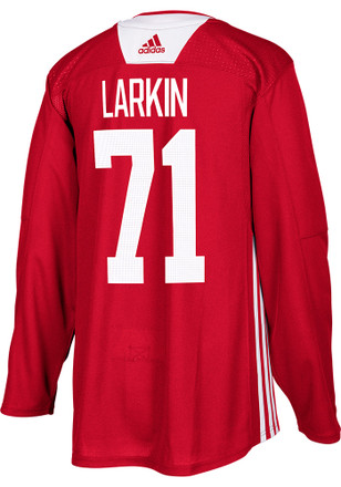 Dylan Larkin Detroit Red Wings Mens Red Practice Jersey