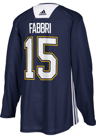 Robby Fabbri St Louis Blues Mens Blue Practice Jersey