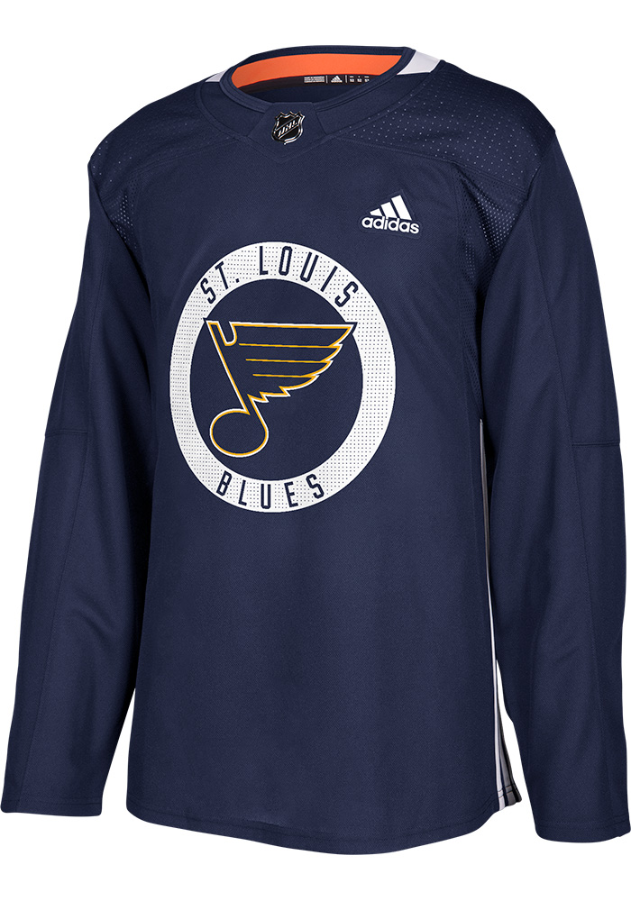 Paul Stastny St Louis Blues Mens Blue Practice Hockey Jersey - Image 2