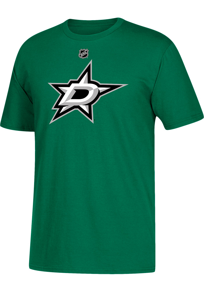 Tyler Seguin Dallas Stars Green Name and Number Short Sleeve Player T Shirt  - Image 1 24d425a83