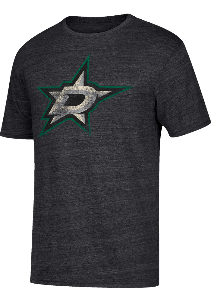 Jamie Benn Dallas Stars Grey Name and Number Short Sleeve Fashion Player T Shirt - Image 2