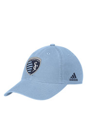 Adidas Sporting Kansas City Light Blue Slouch Adjustable Hat
