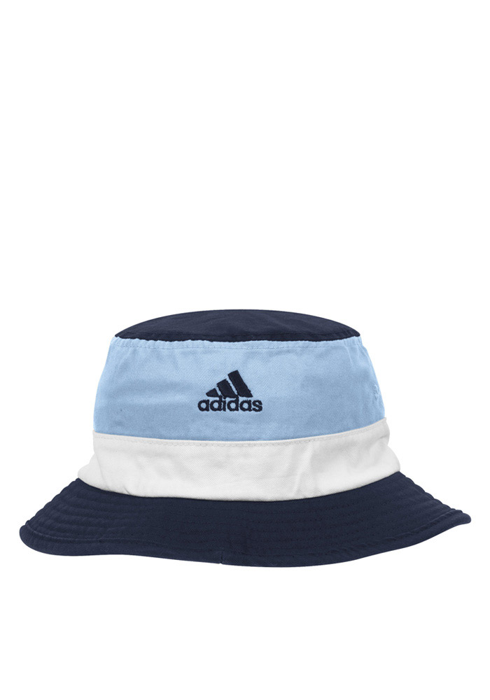 Adidas Sporting Kansas City Mens Navy Blue 2016 Performance Flex Hat - Image 2