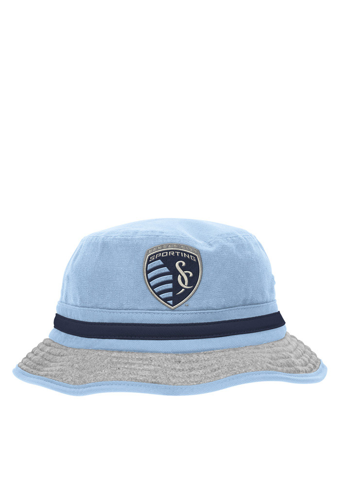 Adidas Sporting Kansas City Mens Navy Blue 2016 Lifestyle Flex Hat - Image 1