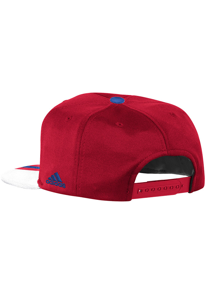 Adidas FC Dallas Red 2017 Authentic Team Mens Snapback Hat - Image 2
