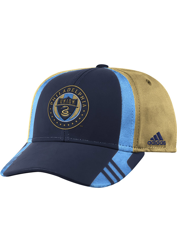 Philadelphia Union Adidas 2017 Authentic Team Adjustable Hat - Navy Blue