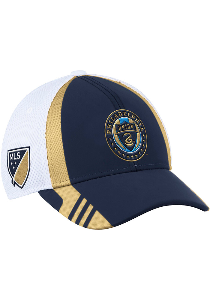 Philadelphia Union Adidas 2017 Authentic Team Flex Hat - Navy Blue