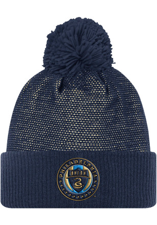 Adidas Philadelphia Union Navy Blue 2017 Authentic Team Knit Hat