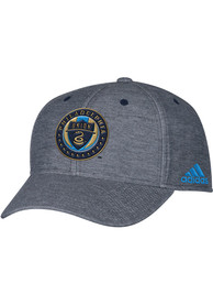 Philadelphia Union Adidas Heather Fashion Adjustable Hat - Grey