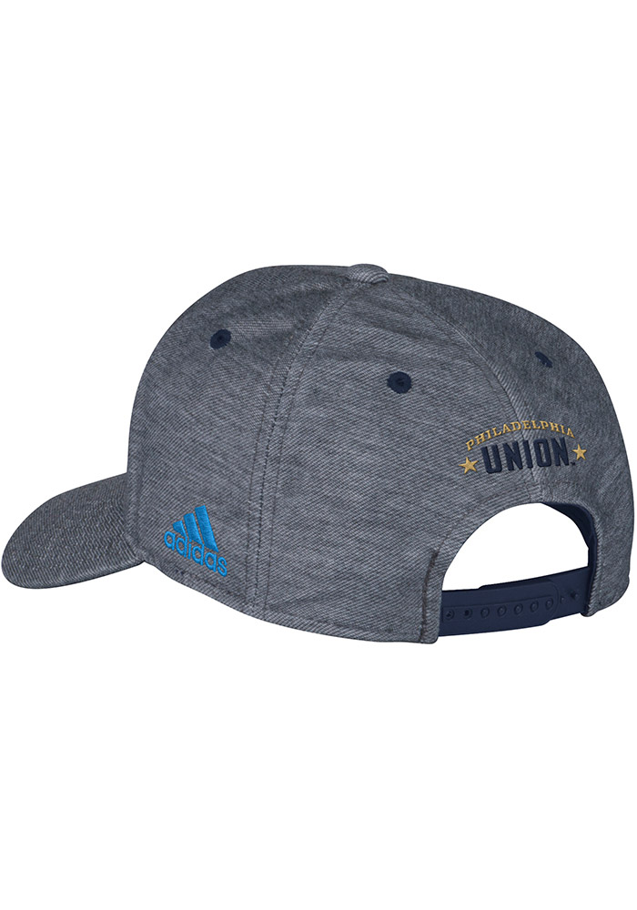 Adidas Philadelphia Union Heather Fashion Adjustable Hat - Grey - Image 2