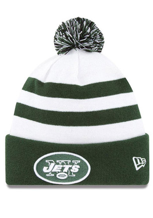 New Era New York Jets White Sport Knit Hat