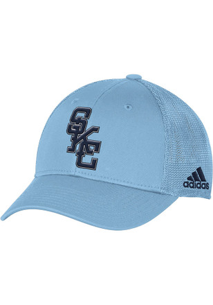Adidas Sporting Kansas City Mens Light Blue Tactel Mesh Flex Hat