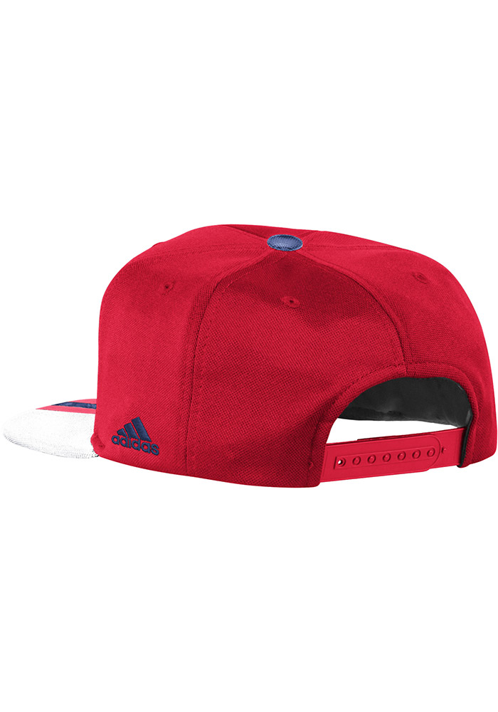 Adidas Chicago Fire Red 2017 Authentic Team Mens Snapback Hat - Image 2