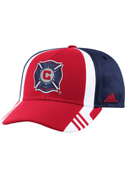 Adidas Chicago Fire 2017 Authentic Team Adjustable Hat - Red
