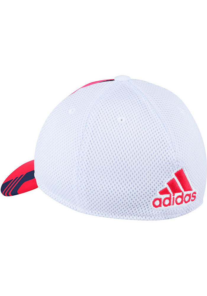Adidas Chicago Fire Mens Red 2017 Authentic Team Flex Hat - Image 2