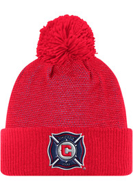 Chicago Fire Adidas 2017 Authentic Team Knit - Red