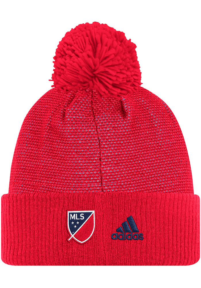 Adidas Chicago Fire Red 2017 Authentic Team Mens Knit Hat - Image 2