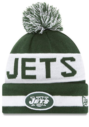 New Era New York Jets Green The Coach Knit Hat
