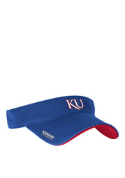 Adidas KU Jayhawks Mens Blue Adjustable Visor