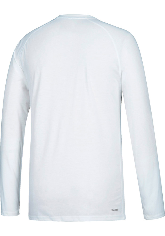 Adidas Texas A&M Aggies White Block Statement Long Sleeve T-Shirt - Image 2