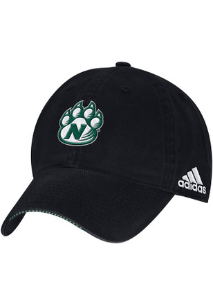 Adidas Northwest Missouri State Bearcats Mens Black 2017 COACH SLOUCH Adjustable Hat