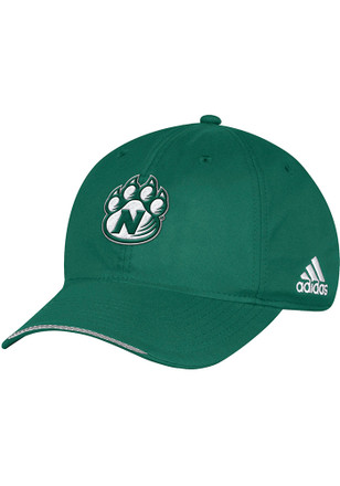 Adidas Northwest Missouri State Bearcats Mens Green 2017 Coach Slope Flex Hat