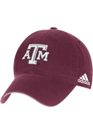 Adidas Texas A&M Aggies Mens Maroon 2017 Coach Slouch Adjustable Hat