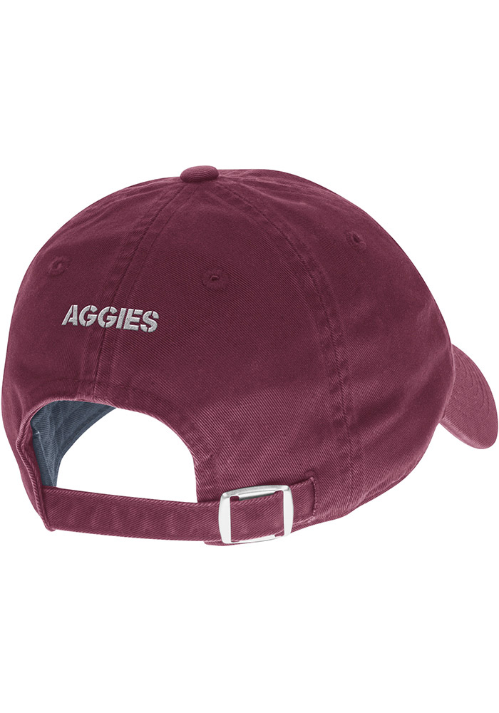 Adidas Texas A&M Aggies 2017 Coach Slouch Adjustable Hat - Maroon - Image 2