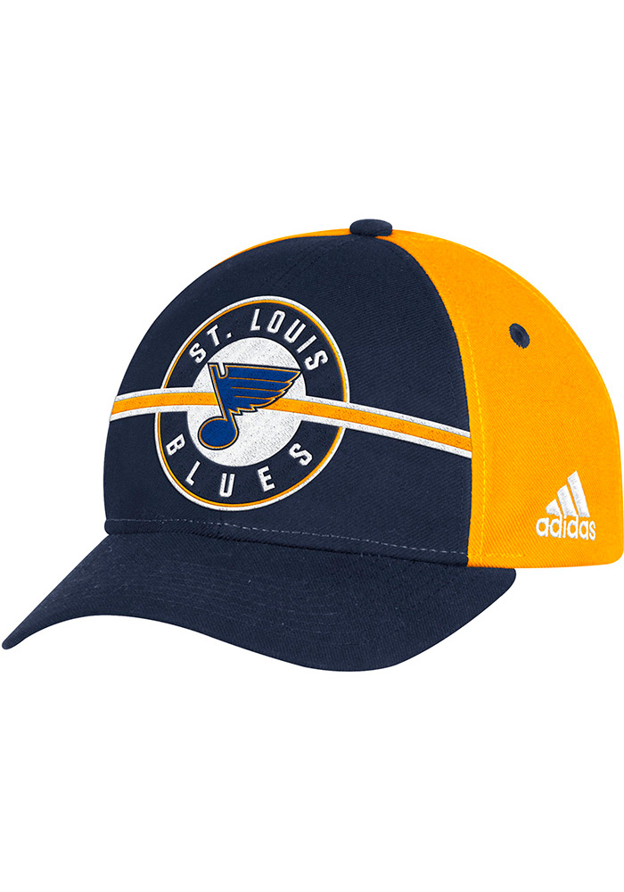 promo code a1d62 476e6 ... netherlands adidas st louis blues blue circle hook wc adjustable hat  96576 48a4a