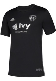 Sporting Kansas City Youth Adidas 2018 Secondary Soccer Jersey - Black