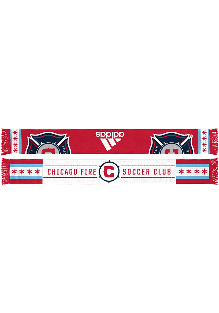 Chicago Fire Adidas Jacquard Scarf - Red
