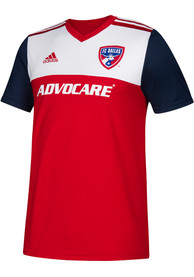 FC Dallas Youth Adidas 2018 Primary Soccer Jersey - Red